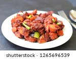 chicken 65  south india's...   Shutterstock . vector #1265696539
