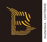 logo b vector   Shutterstock .eps vector #1265700430