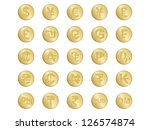 set of golden badges with some... | Shutterstock . vector #126574874