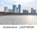 panoramic skyline and modern... | Shutterstock . vector #1265758330