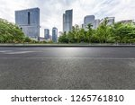 panoramic skyline and modern... | Shutterstock . vector #1265761810