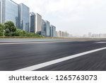 panoramic skyline and modern...   Shutterstock . vector #1265763073