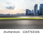 panoramic skyline and modern... | Shutterstock . vector #1265763106