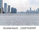 panoramic skyline and modern... | Shutterstock . vector #1265763439