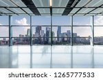 panoramic skyline and buildings ...   Shutterstock . vector #1265777533