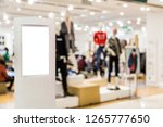 light box with luxury shopping... | Shutterstock . vector #1265777650