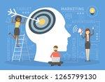 advertising and marketing... | Shutterstock .eps vector #1265799130