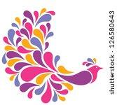 Colorful Bird Illustration....
