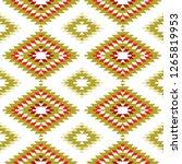 seamless pattern turkish carpet ... | Shutterstock . vector #1265819953