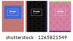 light multicolor vector... | Shutterstock .eps vector #1265821549