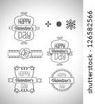 vintage decorative labels eps 10   Shutterstock .eps vector #126582566