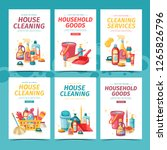 set design banner house... | Shutterstock .eps vector #1265826796