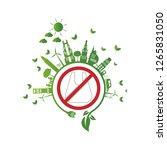 ecology.green cities help no... | Shutterstock .eps vector #1265831050