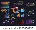 technology graphics and diagram ... | Shutterstock . vector #1265856253