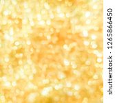 abstract blurred gold yellow... | Shutterstock . vector #1265866450