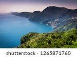 beautiful scenic aerial... | Shutterstock . vector #1265871760