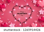 happy saint valentine's day... | Shutterstock .eps vector #1265914426