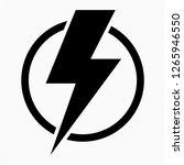 glyph energy pixel perfect... | Shutterstock .eps vector #1265946550