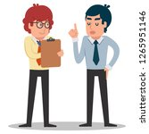 illustration of business man...   Shutterstock .eps vector #1265951146