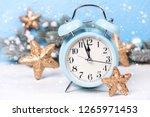 Blue Alarm Clock   Branches Fi...