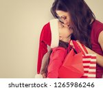 Happy Mother Kissing With Love...