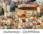 colorful cityscape of old town... | Shutterstock . vector #1265994016