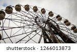 Ferris Wheel In An Abandoned...