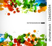 splash background. eps10 vector | Shutterstock .eps vector #126602054