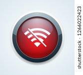 no wireless wi fi signal... | Shutterstock .eps vector #1266022423