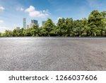 panoramic skyline and modern...   Shutterstock . vector #1266037606