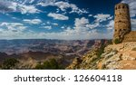 Panorama Of The Grand Canyon...