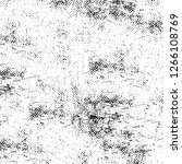 vector grunge overlay texture.... | Shutterstock .eps vector #1266108769