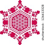 vector image   water crystal ...   Shutterstock .eps vector #126613328