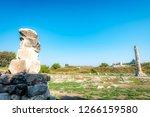 temple of artemis of ancient... | Shutterstock . vector #1266159580