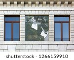 close up of the exterior of the ... | Shutterstock . vector #1266159910