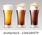 freshly brewed  various grades... | Shutterstock .eps vector #1266184579