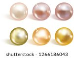 realistic different colors... | Shutterstock .eps vector #1266186043