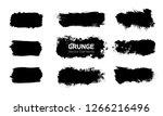 art graphics shapes elements.... | Shutterstock .eps vector #1266216496