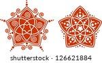 venus flower   flower of love   ... | Shutterstock .eps vector #126621884