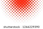 halftone circle background... | Shutterstock . vector #1266229390