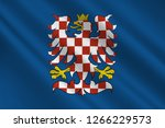 flag of moravia is a historical ... | Shutterstock . vector #1266229573