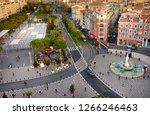 nice  france   december 14 2018 ... | Shutterstock . vector #1266246463