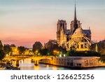 Notre Dame De Paris By Night...