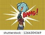 Bang The Starting Gun. Comic...