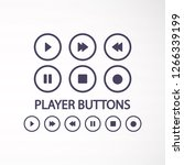 media vector icon   Shutterstock .eps vector #1266339199