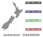vector dot abstract new zealand ... | Shutterstock .eps vector #1266340636