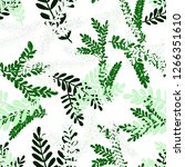 creative seamless pattern with... | Shutterstock . vector #1266351610