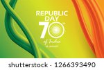republic day of india...   Shutterstock .eps vector #1266393490