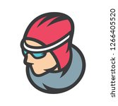 speed skating sign | Shutterstock .eps vector #1266405520