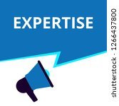 text sign showing expertise.... | Shutterstock .eps vector #1266437800
